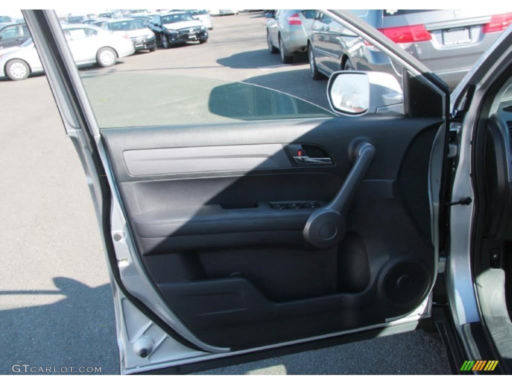 2009 CR-V EX-L 4WD - Alabaster Silver Metallic / Black photo #19