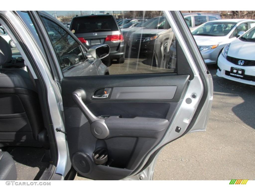 2009 CR-V EX-L 4WD - Alabaster Silver Metallic / Black photo #21