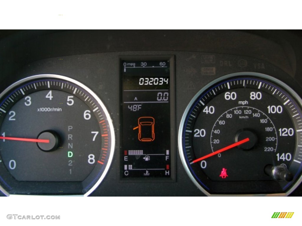 2009 CR-V EX-L 4WD - Alabaster Silver Metallic / Black photo #23