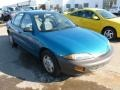 1995 Teal Blue Metallic Chevrolet Cavalier Sedan #60804774