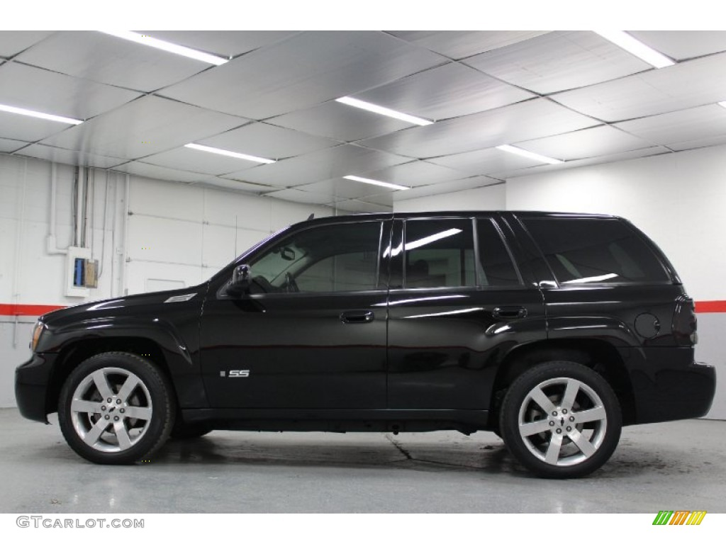 Black 2007 chevrolet trailblazer ss exterior photo 60910141 gtcarlot com
