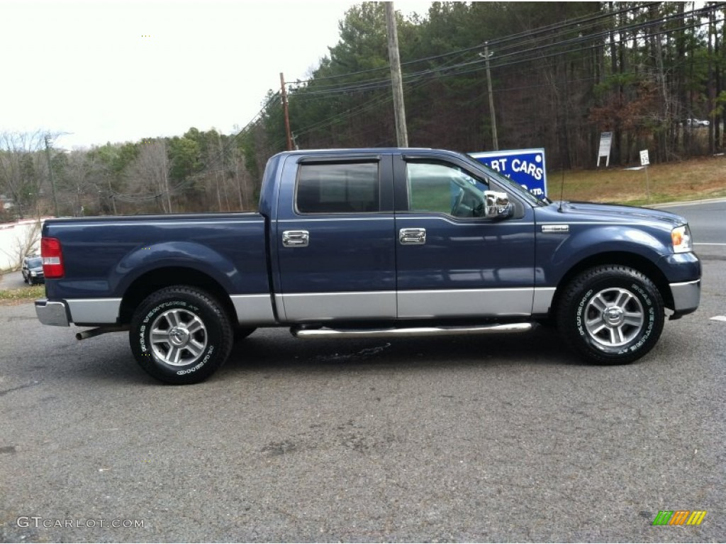 true blue metallic 2006 ford f150 xlt supercrew exterior. Black Bedroom Furniture Sets. Home Design Ideas