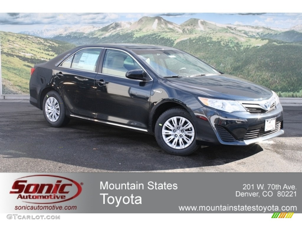 2012 cosmic gray mica toyota camry hybrid le 60907279 car color galleries. Black Bedroom Furniture Sets. Home Design Ideas