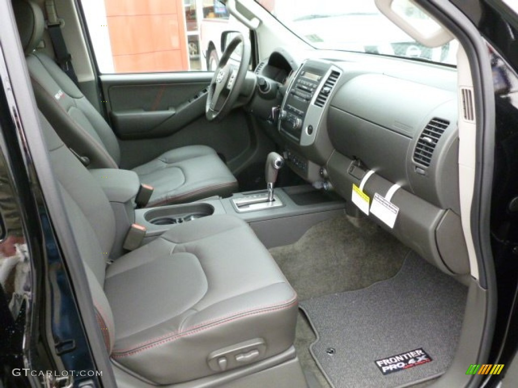 Pro 4x Graphite Red Interior 2012 Nissan Frontier Pro 4x Crew Cab 4x4 Photo 60928118