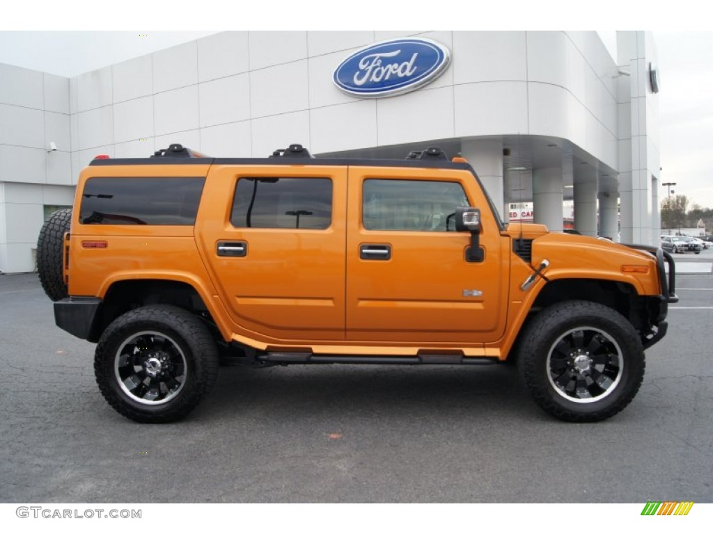 Fusion Orange 2006 Hummer H2 SUV Exterior Photo #60937408