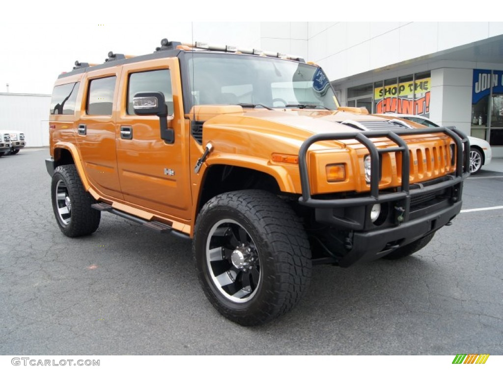Fusion Orange 2006 Hummer H2 SUV Exterior Photo #60937419