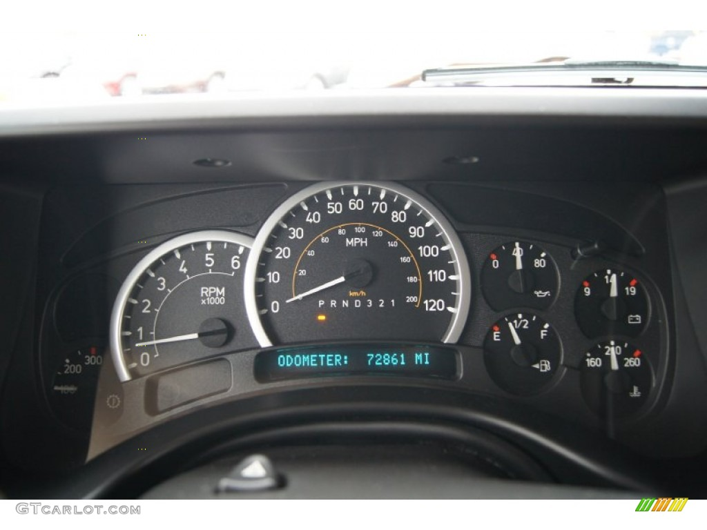 2006 Hummer H2 SUV Gauges Photo #60937666