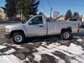 2012 Silver Ice Metallic Chevrolet Silverado 1500 Work Truck Regular Cab 4x4  photo #2