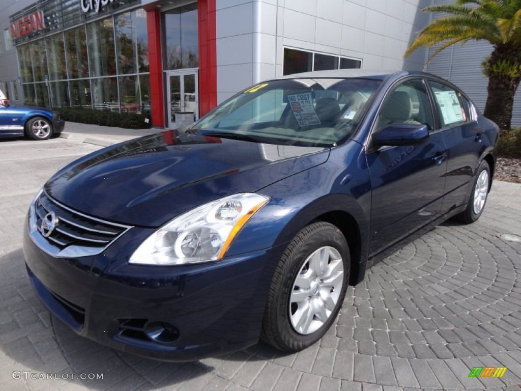 Navy Blue 2012 Nissan Altima 2 5 S Exterior Photo