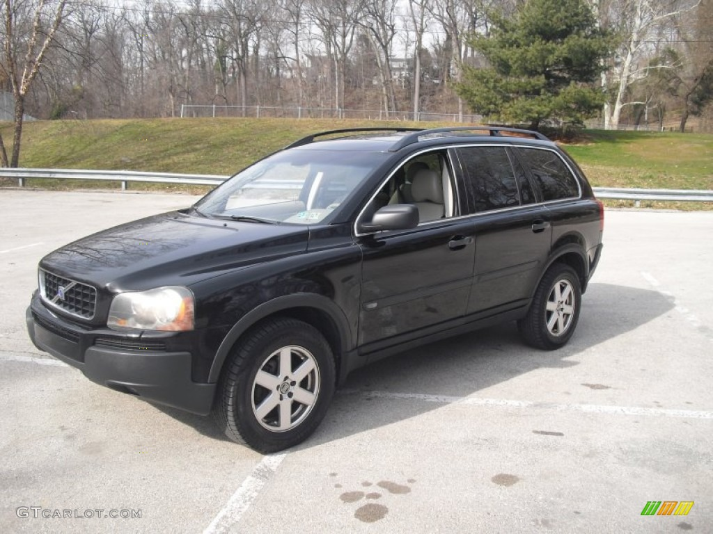 black 2005 volvo xc90 2 5t awd exterior photo 60960459. Black Bedroom Furniture Sets. Home Design Ideas