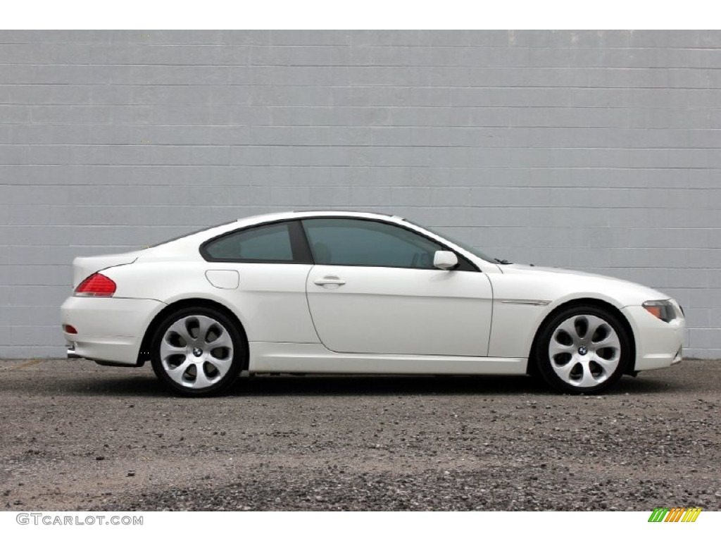 alpine white 2005 bmw 6 series 645i coupe exterior photo 60960810. Black Bedroom Furniture Sets. Home Design Ideas