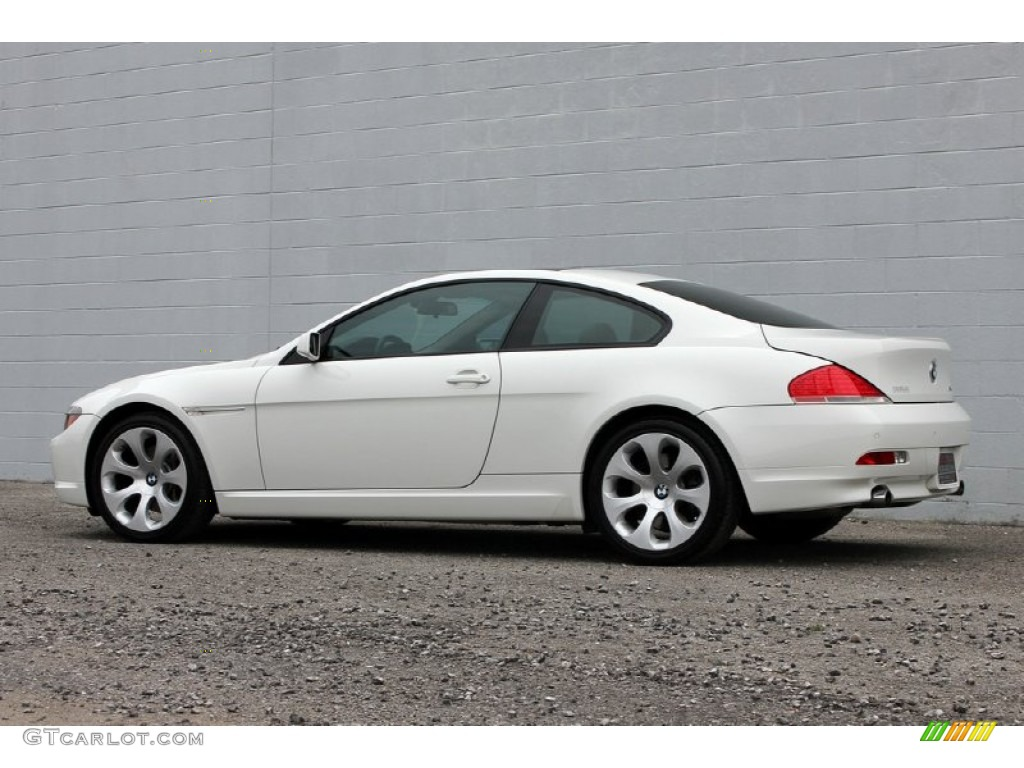 alpine white 2005 bmw 6 series 645i coupe exterior photo 60960939. Black Bedroom Furniture Sets. Home Design Ideas