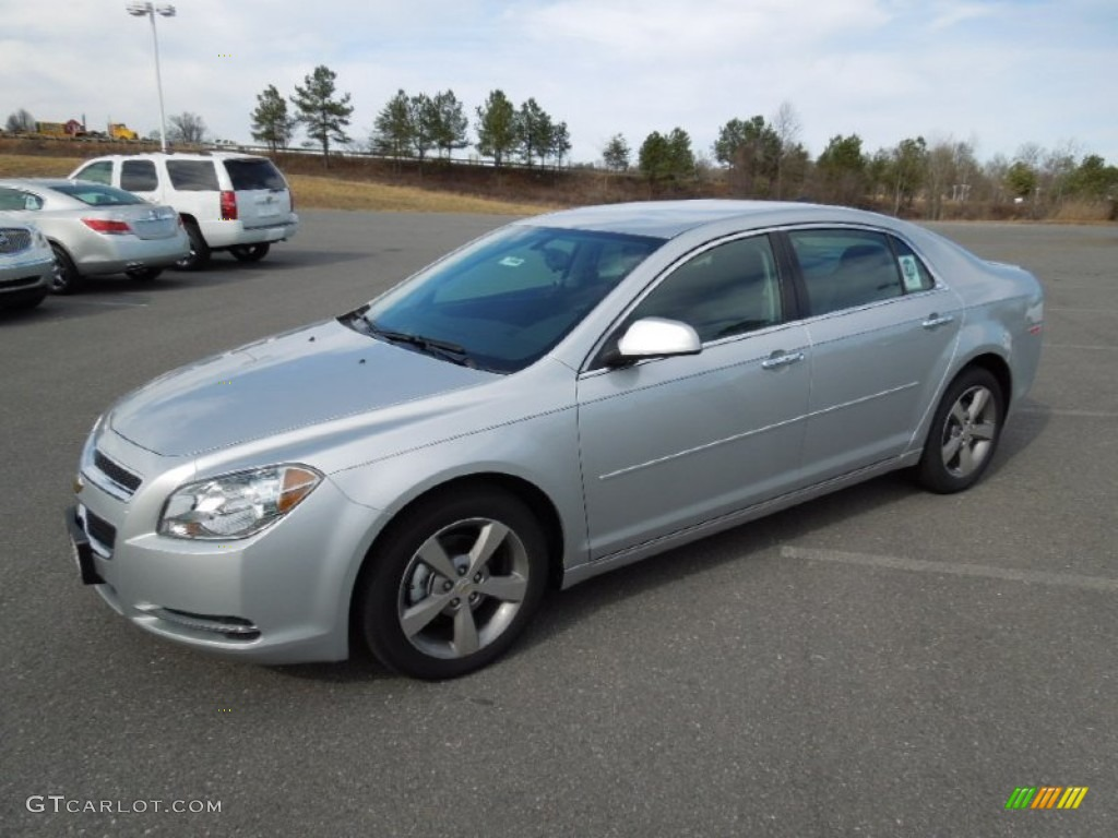 silver ice metallic 2012 chevrolet malibu lt exterior photo 60964707. Black Bedroom Furniture Sets. Home Design Ideas