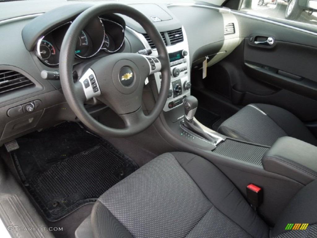 Ebony Interior 2012 Chevrolet Malibu Lt Photo 60964842