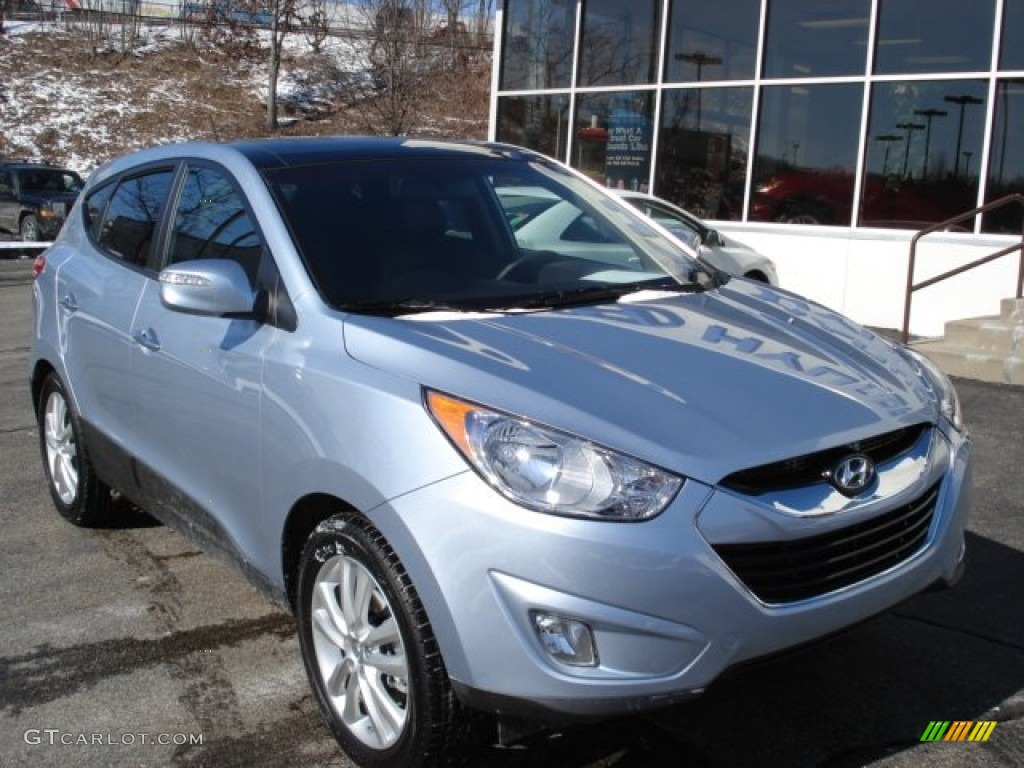 aurora blue 2012 hyundai tucson limited awd exterior photo 60970491. Black Bedroom Furniture Sets. Home Design Ideas