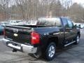 2012 Black Chevrolet Silverado 1500 LT Extended Cab 4x4  photo #8