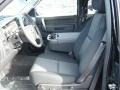 2012 Black Chevrolet Silverado 1500 LT Extended Cab 4x4  photo #11
