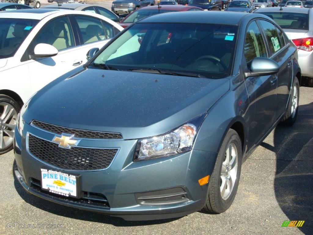 2012 Blue Granite Metallic Chevrolet Cruze LT #60973340 ...