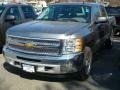 2012 Graystone Metallic Chevrolet Silverado 1500 LS Crew Cab 4x4  photo #1