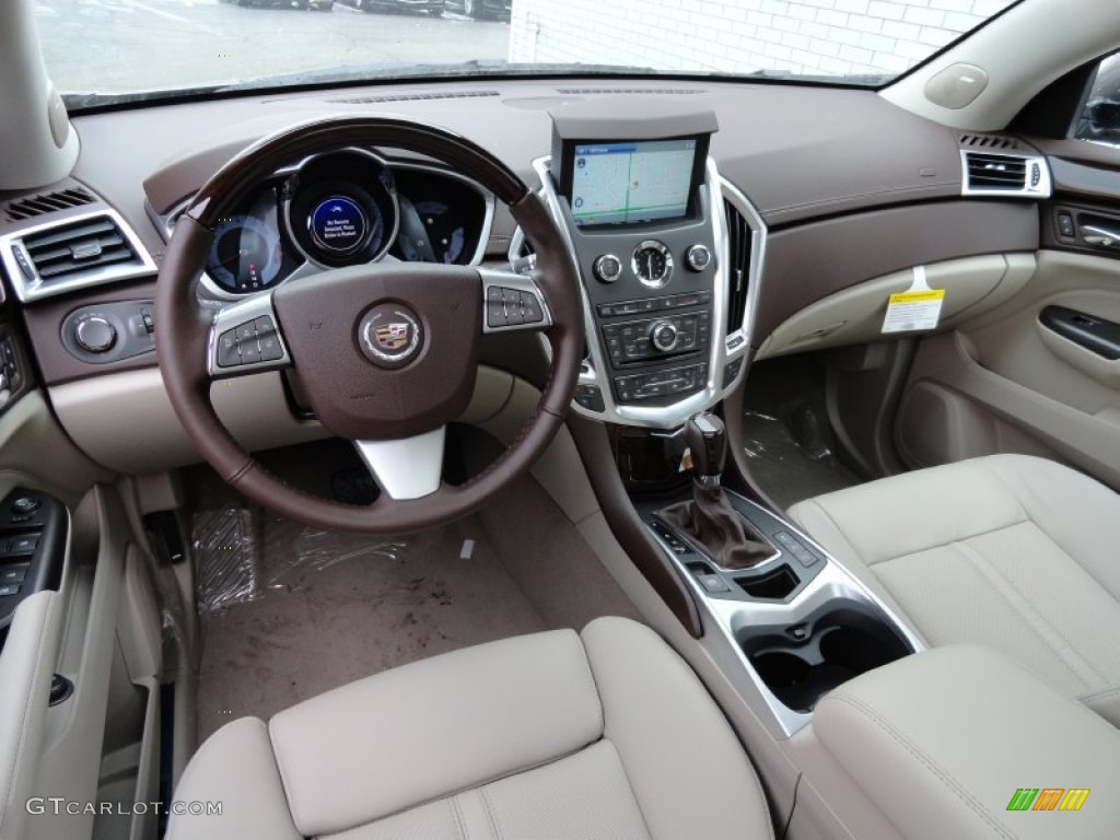 Shale Brownstone Interior 2012 Cadillac Srx Luxury Photo 60982675