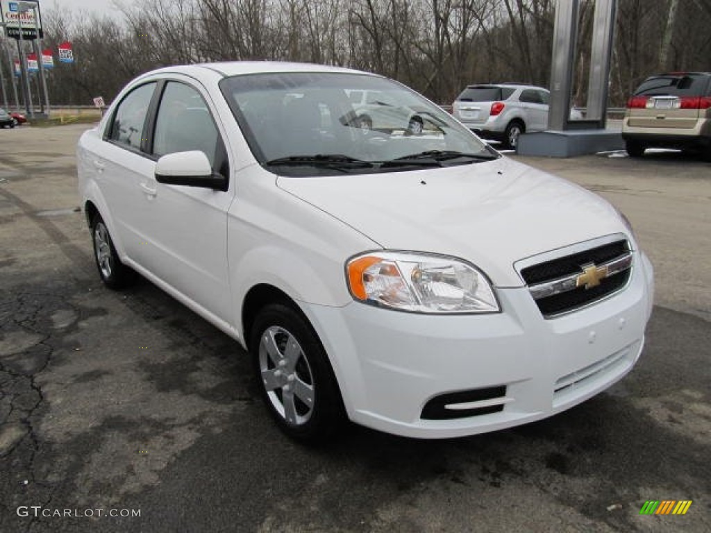 summit white 2010 chevrolet aveo lt sedan exterior photo 60983134. Black Bedroom Furniture Sets. Home Design Ideas