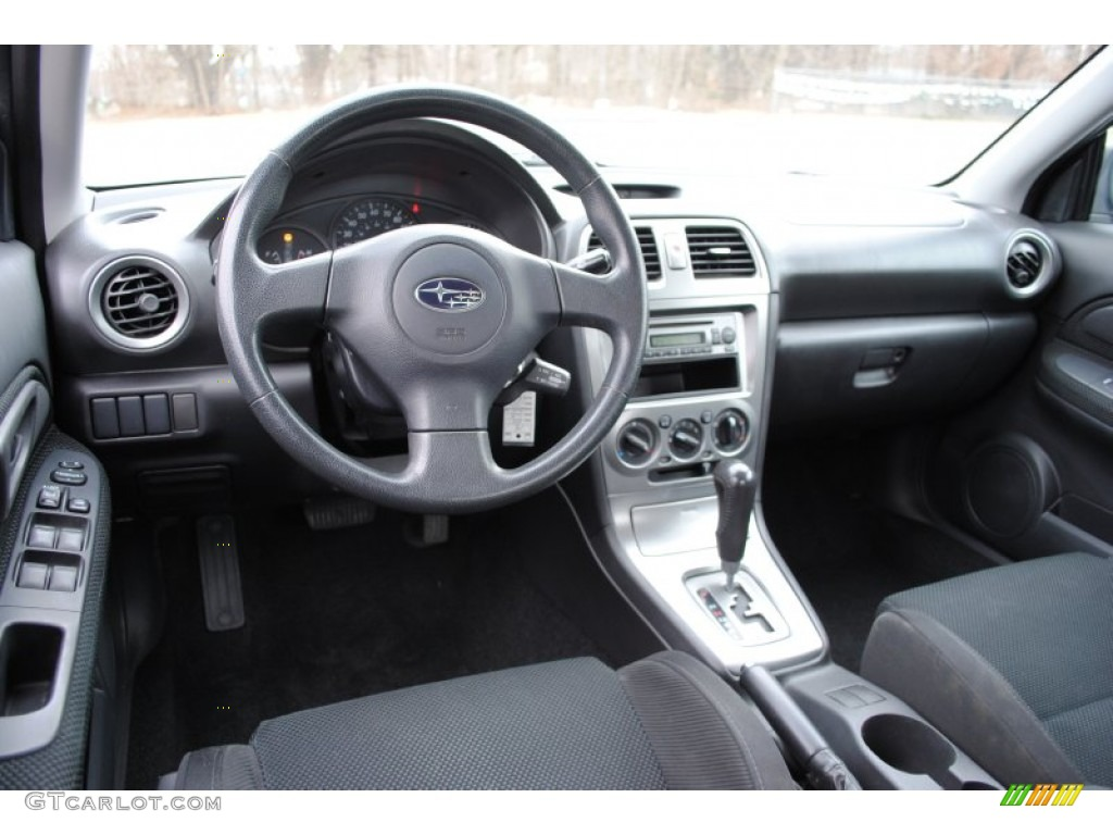 2005 Subaru Impreza 2 5 Rs Sedan Interior Photos
