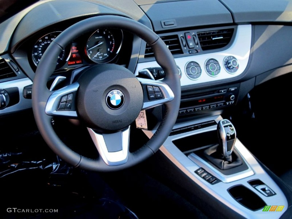 2012 Bmw Z4 Sdrive35i Black Dashboard Photo 60987466