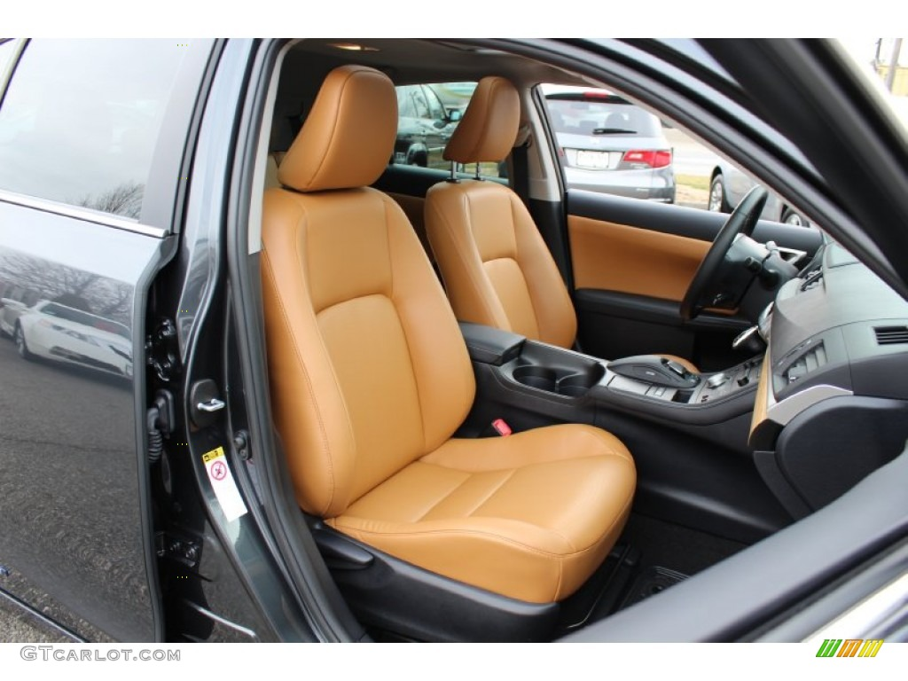 caramel interior 2011 lexus ct 200h hybrid premium photo