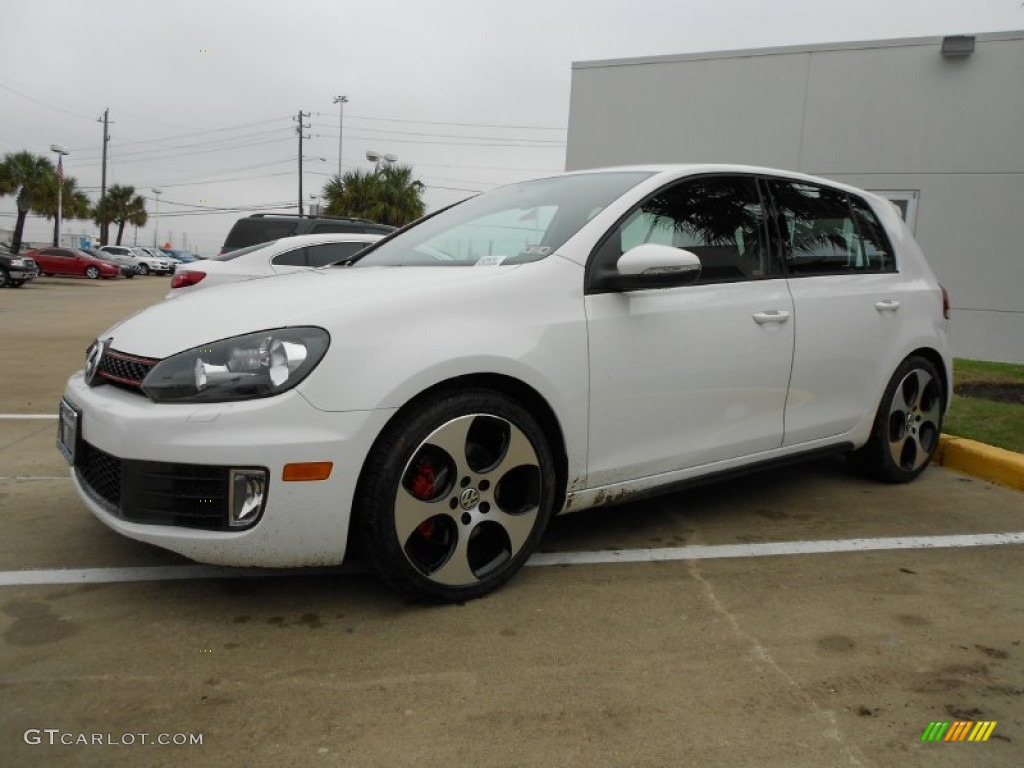 candy white 2012 volkswagen gti 4 door exterior photo. Black Bedroom Furniture Sets. Home Design Ideas