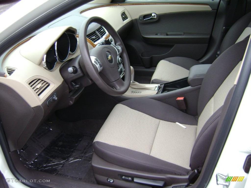 Cocoa/Cashmere Interior 2012 Chevrolet Malibu LT Photo #61004501   GTCarLot.com