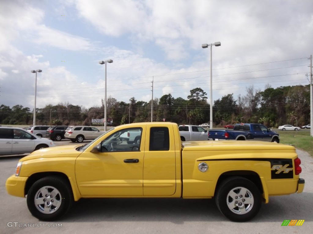 Solar yellow 2006 dodge dakota r t club cab exterior photo 61014499 gtcarlot com
