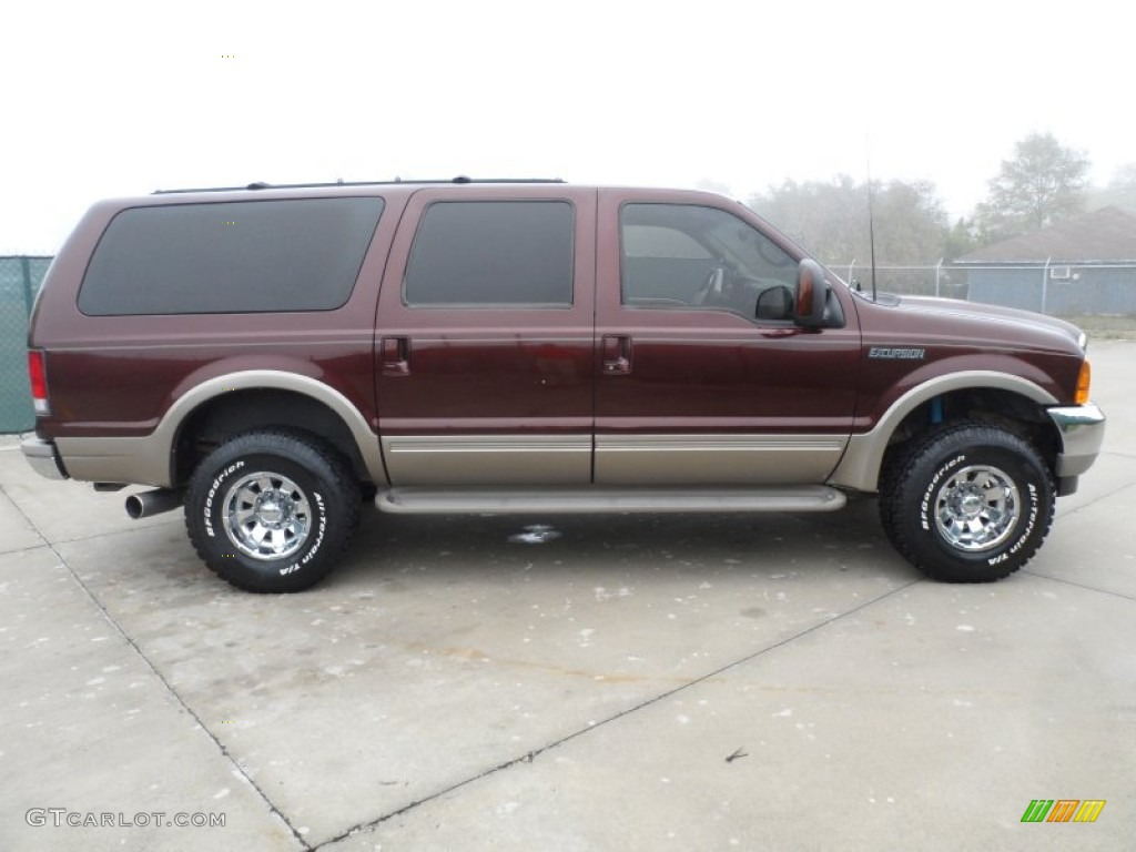 Chestnut Metallic 2001 Ford Excursion Limited 4x4 Exterior