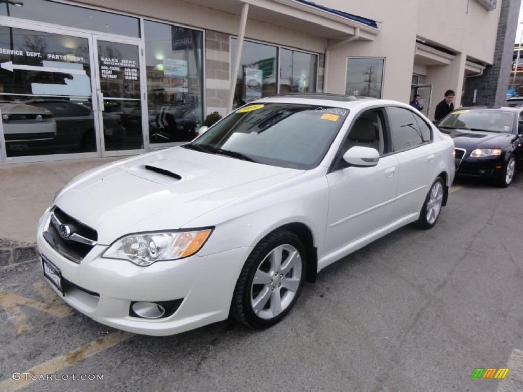 satin white pearl 2009 subaru legacy 2 5 gt limited. Black Bedroom Furniture Sets. Home Design Ideas