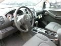 2012 Nissan Xterra Pro 4X Gray Leather Interior Prime Interior Photo