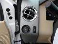2012 White Platinum Metallic Tri-Coat Ford F250 Super Duty Lariat Crew Cab 4x4  photo #40