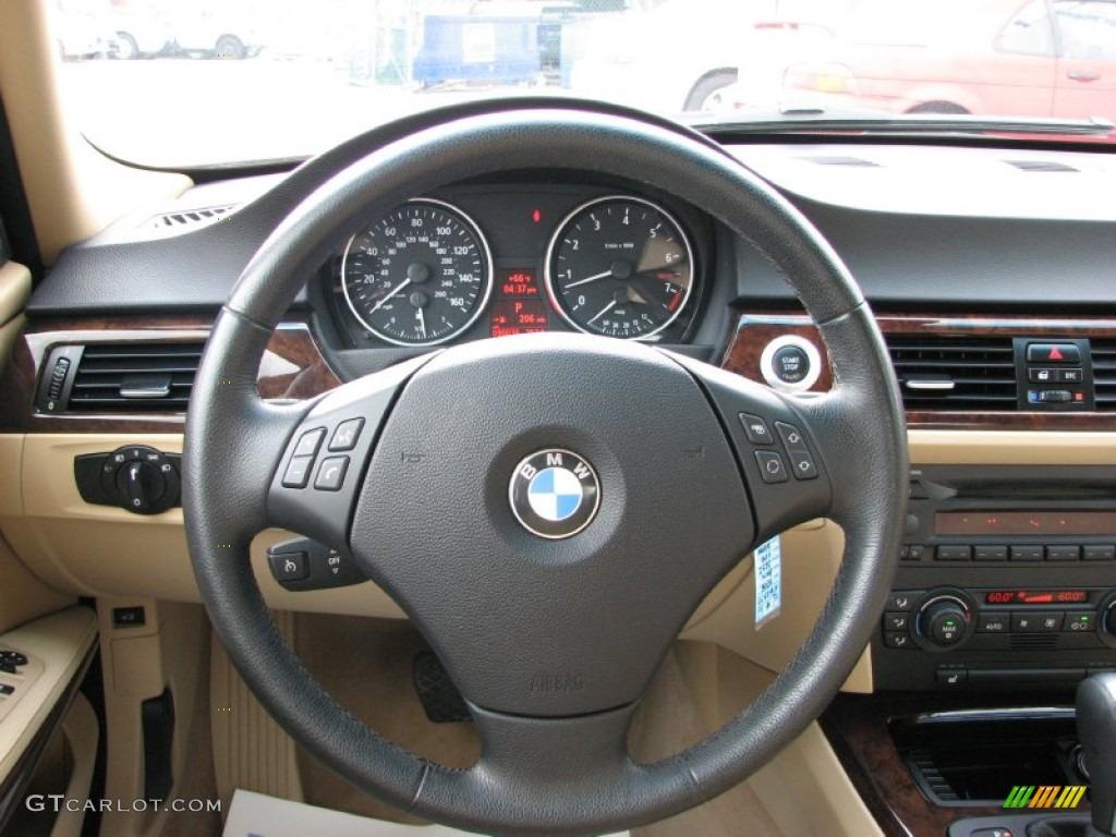 BMW Series I Sedan Beige Steering Wheel Photo - Bmw 325i steering wheel