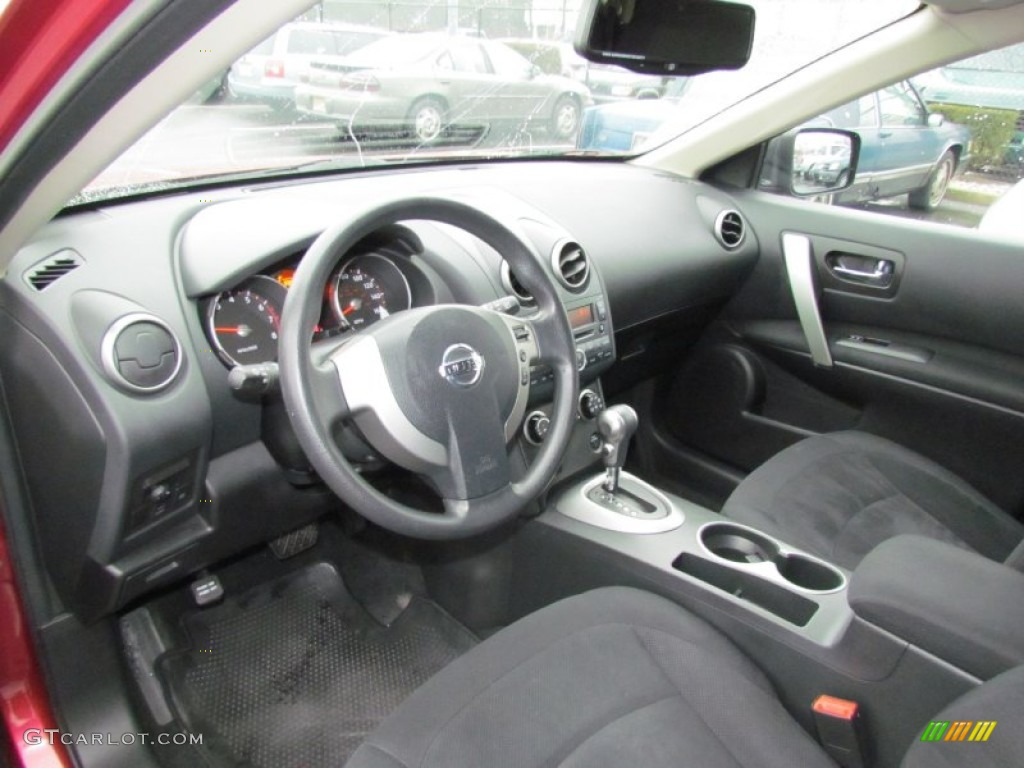 Black Interior 2010 Nissan Rogue S Awd 360 Value Package