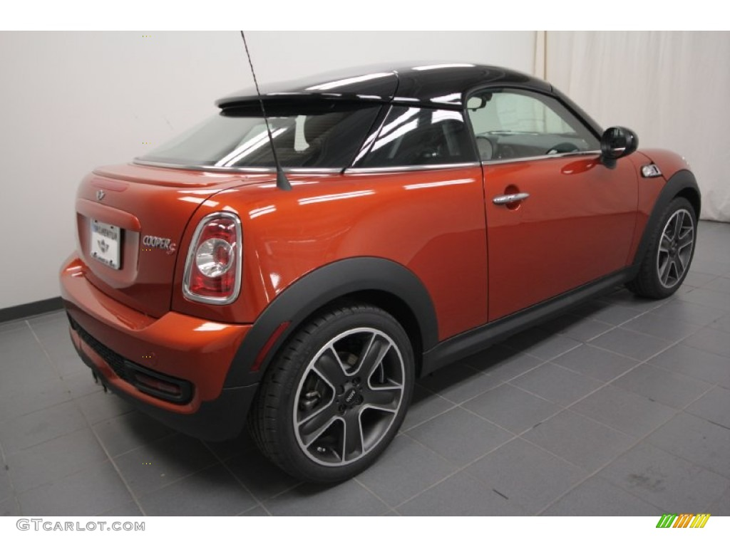 spice orange metallic 2012 mini cooper s coupe exterior photo 61045510. Black Bedroom Furniture Sets. Home Design Ideas