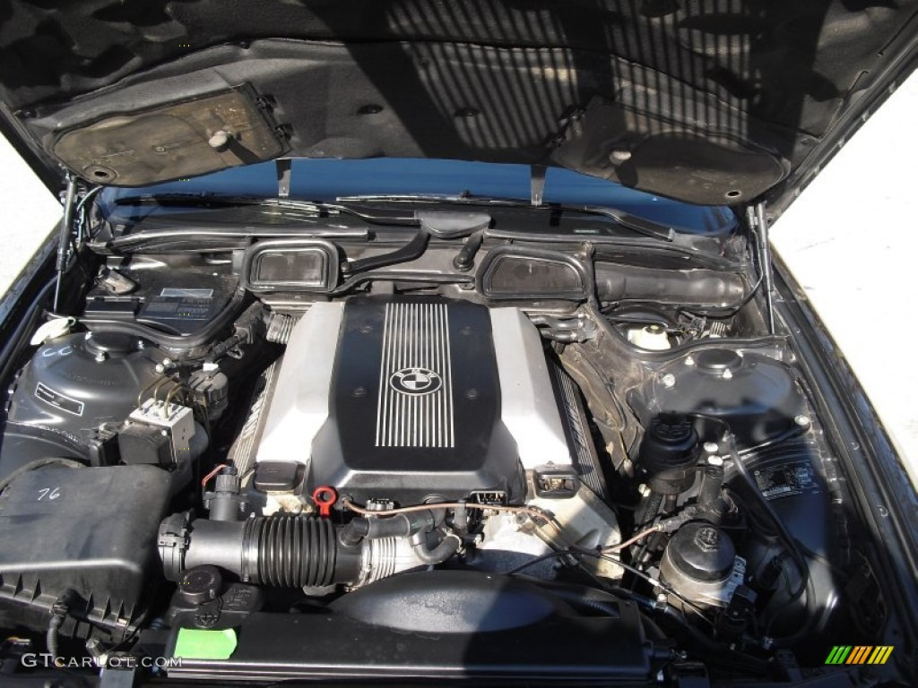 1998 bmw 740il engine diagram 1998 bmw 7 series 740il sedan 4.4 liter dohc 32-valve v8 ...