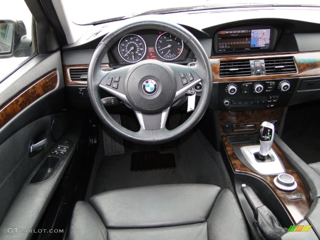 2008 Bmw 5 Series 535i Sedan Black Dashboard Photo 61062166