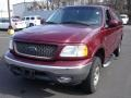 Burgundy Red Metallic 2003 Ford F150 XLT Regular Cab 4x4