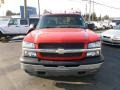 2005 Victory Red Chevrolet Silverado 1500 Z71 Extended Cab 4x4  photo #2