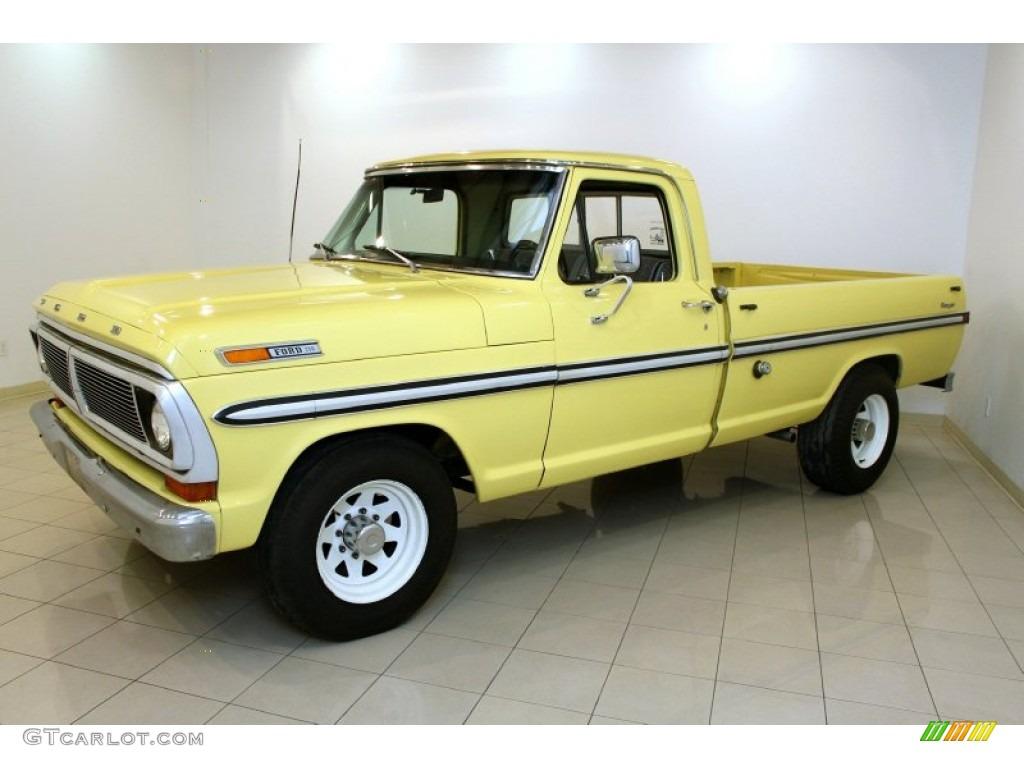 yucatan gold 1970 ford f series truck f250 ranger exterior. Black Bedroom Furniture Sets. Home Design Ideas