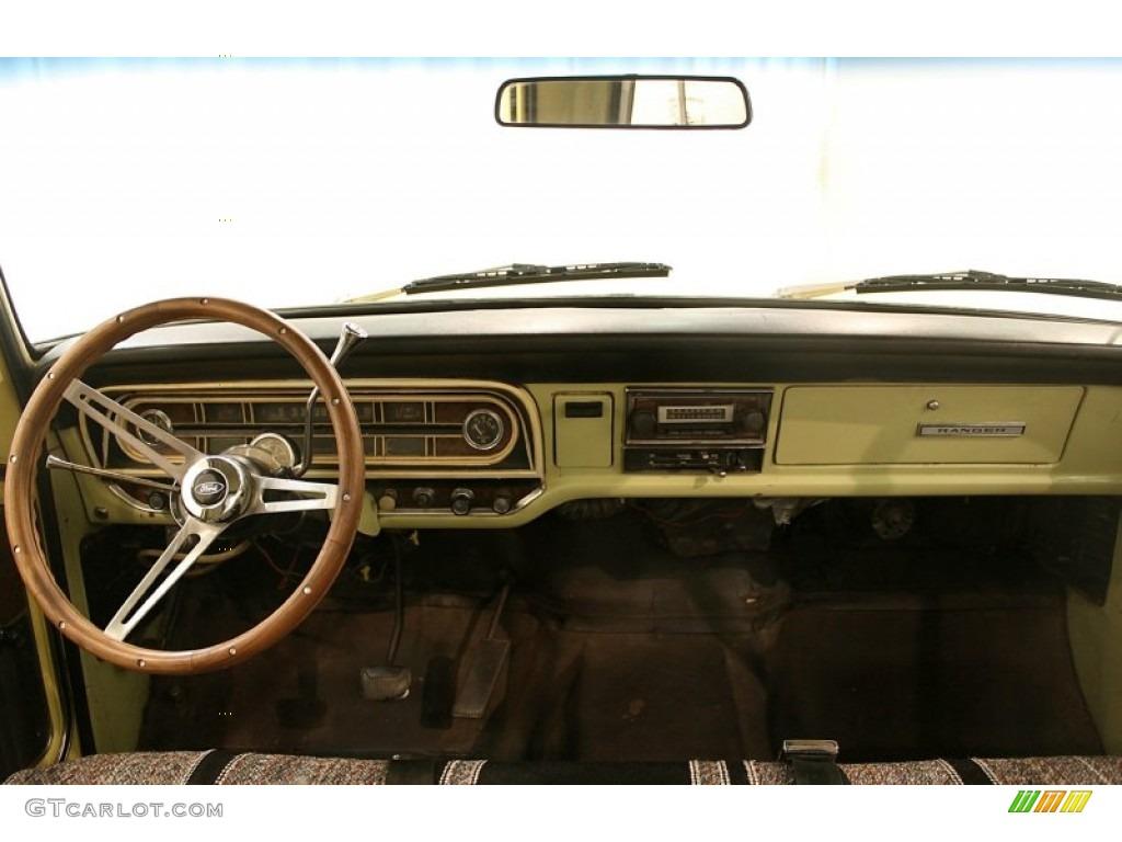 1970 ford f series truck f250 ranger black dashboard photo. Black Bedroom Furniture Sets. Home Design Ideas