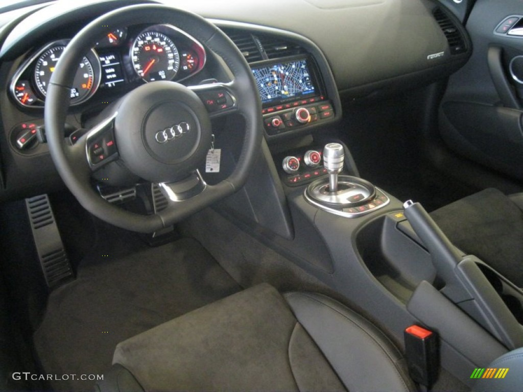 black interior 2012 audi r8 4 2 fsi quattro photo. Black Bedroom Furniture Sets. Home Design Ideas