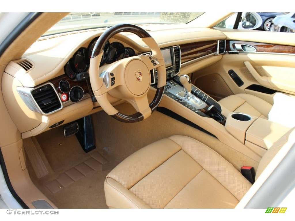 Luxor beige interior 2012 porsche panamera turbo photo 61072561 for Porsche panamera interior dimensions