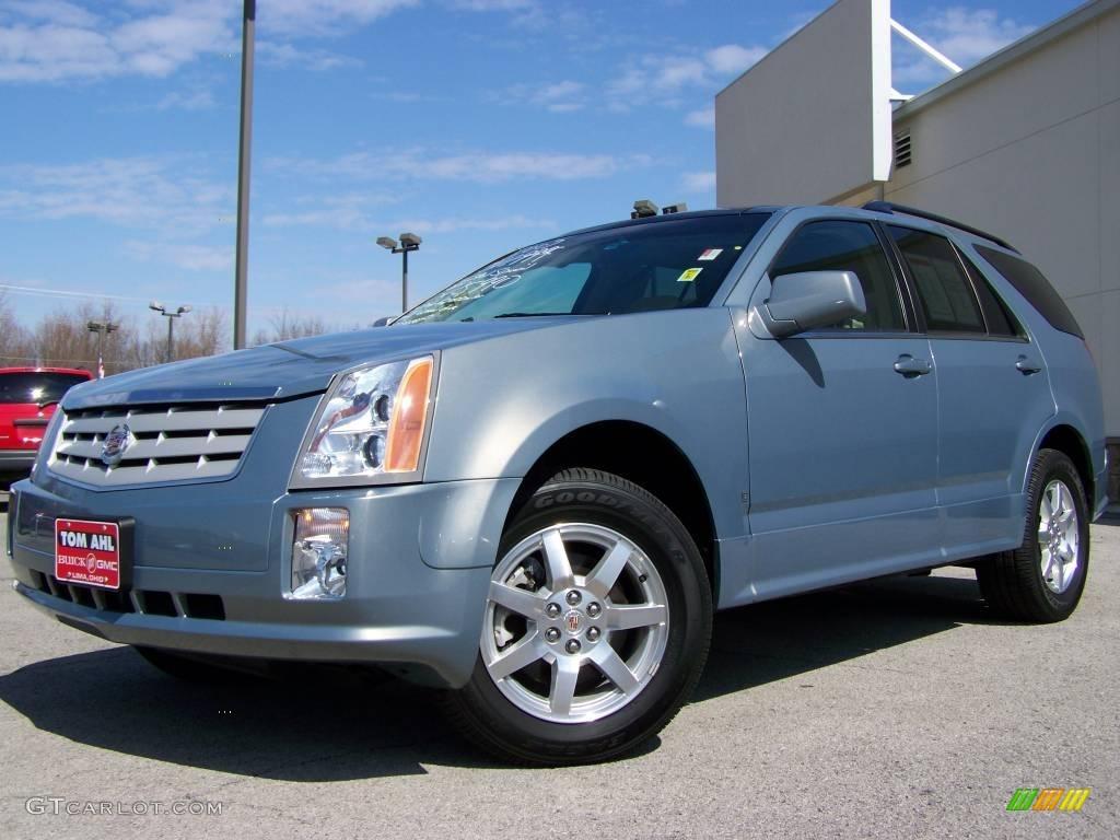 2007 Sunset Blue Cadillac Srx 4 V6 Awd 6086190 Gtcarlot