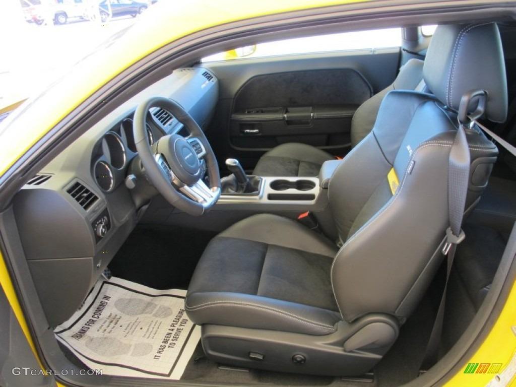 2012 dodge challenger srt8 yellow jacket interior photo 61078540