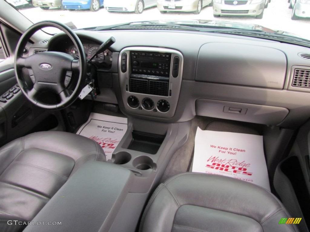 2003 Ford Explorer Xlt 4x4 Graphite Grey Dashboard Photo 61080049
