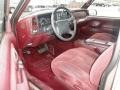 Red 1997 Chevrolet C/K Interiors